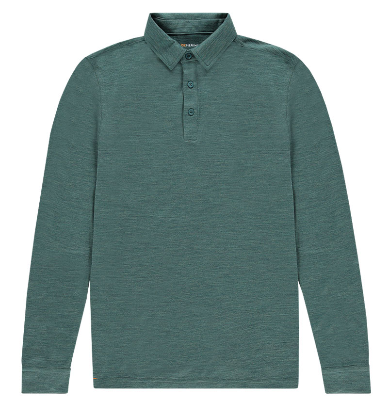 Shirt Polo Long Sleeve